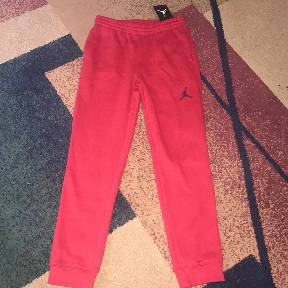7ab481bbe1e5 Boys Nike Jordan joggers pants youth large NWT